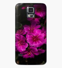 A Vivid Succulent Bouquet in Bold Pink and Fuchsia Case/Skin for Samsung Galaxy