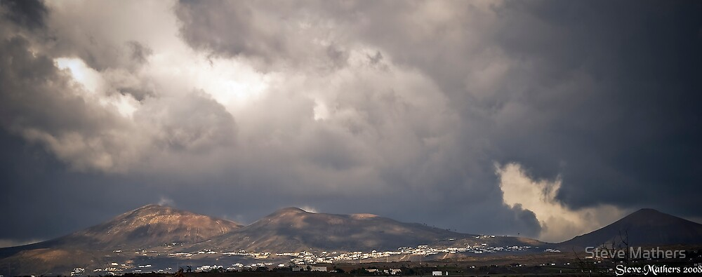 Cloudy Days in Lanzarote.... by Steve Mathers