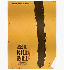 Kill Bill, Quentin Tarantino, movie poster, alternative, minimal version Poster