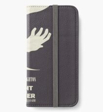 The Night of the Hunter, Fine Art Print, Movie Poster, Charles Laughton, Robert Mitchum, glicée, Alternative, Minimal, old film, classic iPhone Wallet/Case/Skin