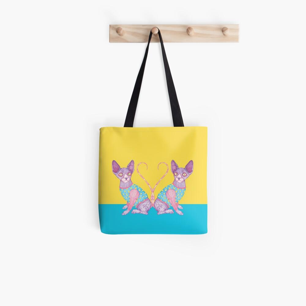 The Clowncat (Sphynx) Tote Bag