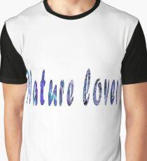 Nature Lover (blue-purple) Graphic T-Shirt