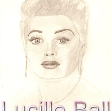 Lucille Ball by visualyzethis