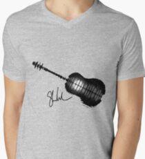 Shawn Mendes tattoos stars Men's V-Neck T-Shirt
