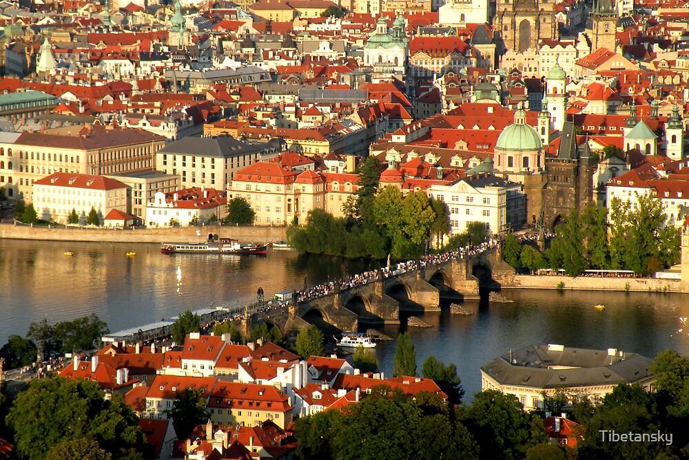 Prague by Tibetansky