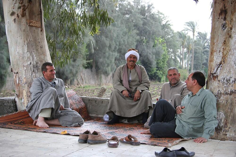 Tea Time in Egypt by annconlon