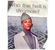 wth is stromae posters by elouisart redbubble