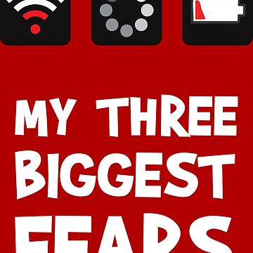 My 3 Biggest Fears by Mockster