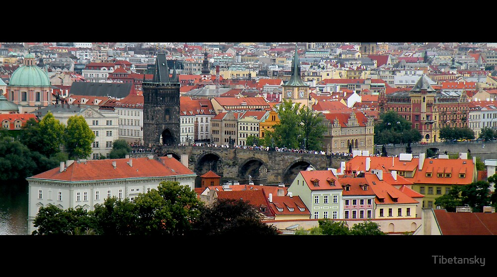 Prague by Tibetansky