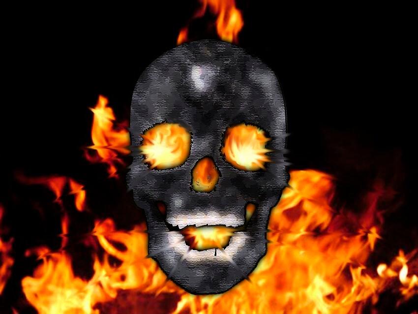 SkullFire by NeonString