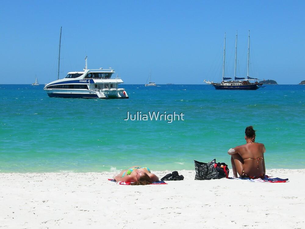 To get a suntan by JuliaWright