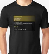 The Witcher 3 Magic Armor Unisex T-Shirt