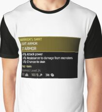 The Witcher 3 Magic Armor Graphic T-Shirt