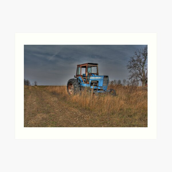 Ford Tractor Art Print