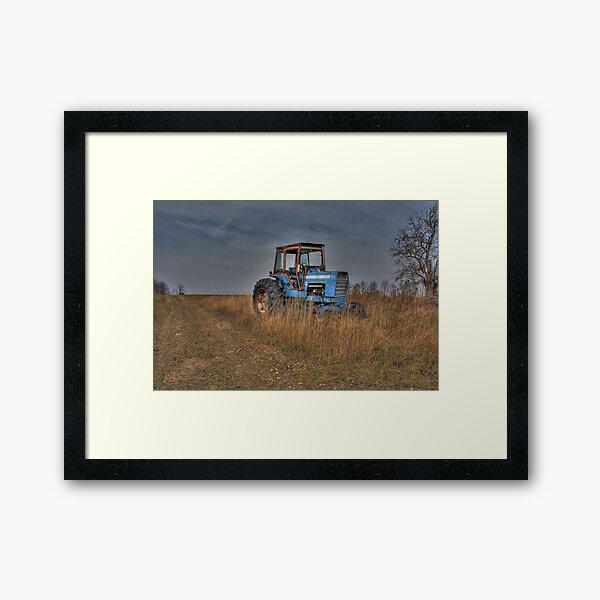 Ford Tractor Framed Art Print