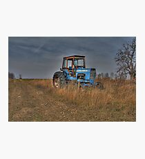 Ford Tractor Photographic Print