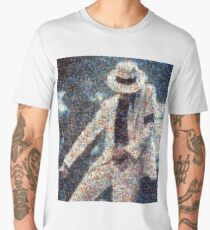 MJJ Mosaic Smooth Criminal Men's Premium T-Shirt