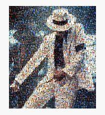 MJJ Mosaic Smooth Criminal Photographic Print