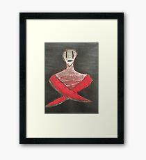 Machine.  Framed Print