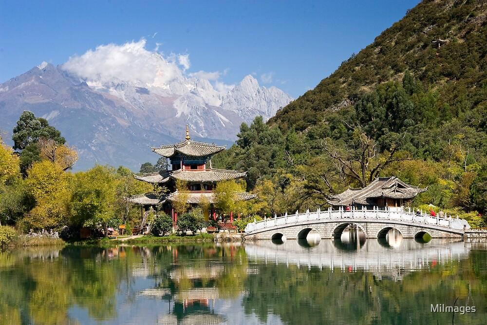 Black Dragon Pool Lijiang Yunan Province China 1 by MiImages