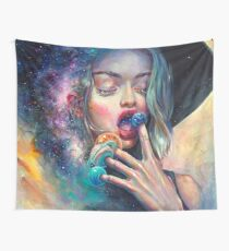 Black Hole in the Milky Way Wall Tapestry