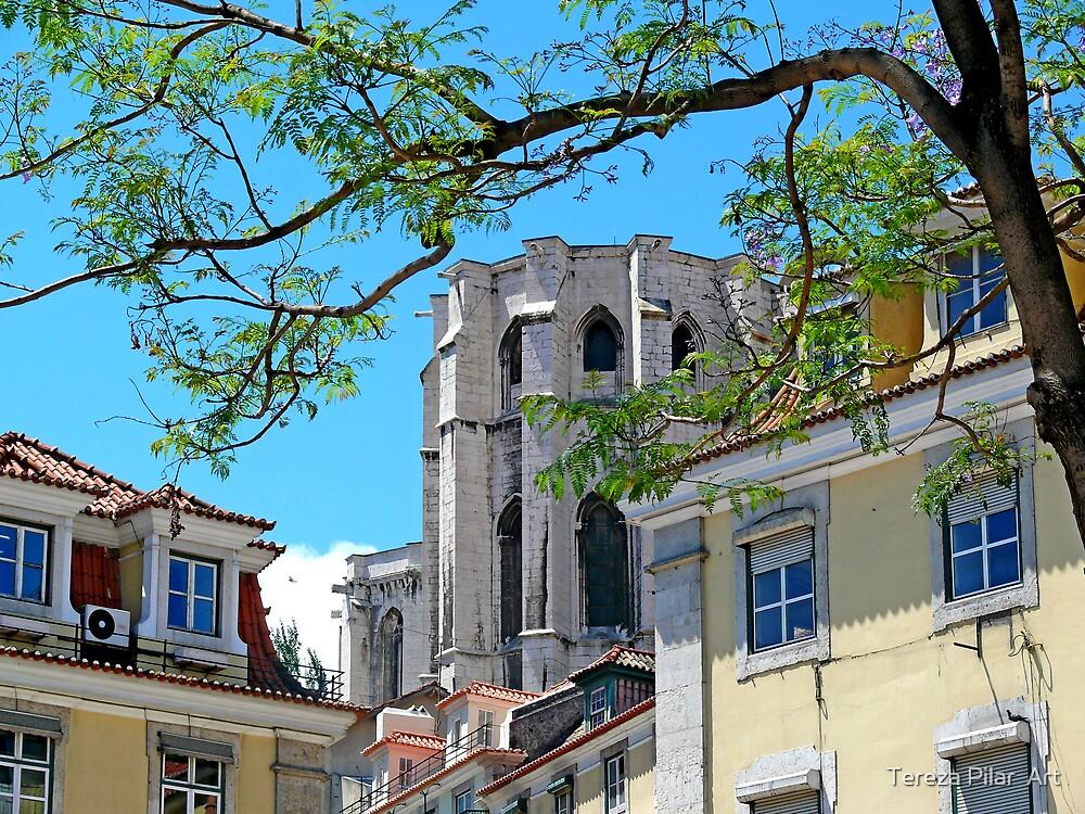 Convento do Carmo. Rossio. Lisbon by terezadelpilar ~ art & architecture