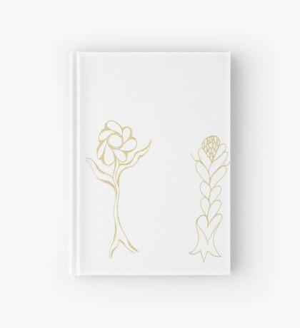 Flouncing Flora Hardcover Journal