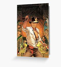 Indiana Jones: Raiders of the Lost Ark Greeting Card