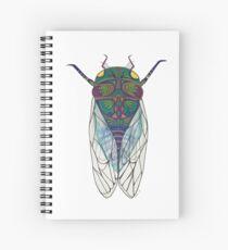 Cicada magic  Spiral Notebook