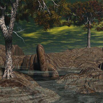 Cedars of Illysis02 - Headwaters by Sazzart