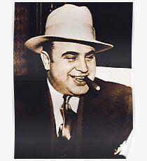Al Capone Portrait Poster