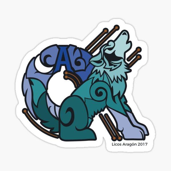 Alpha wolf Sticker