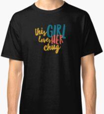 Chug love  Classic T-Shirt