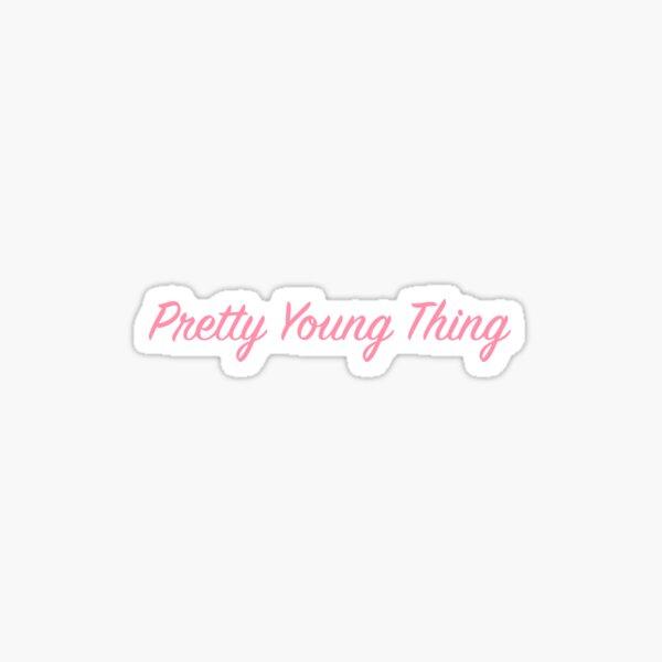 Jolie jeune chose Sticker