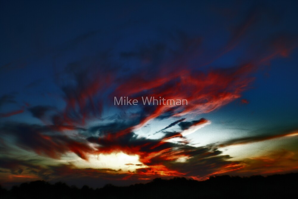 Fire in the Sky (HDR) by Mike Whitman