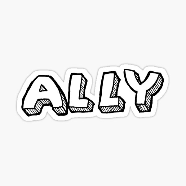Pride Ally Sticker