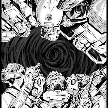 TF - Wreckers (white background) by deadbunneh