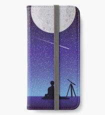 BTS Jimin Serendipity Landschaft iPhone Flip-Case/Hülle/Klebefolie