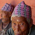 Peaceful Eyes, Kathmandu, Nepal by AlliD