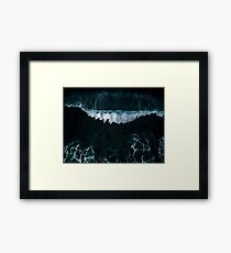 Wave in Motion - Ocean Photography Framed Print