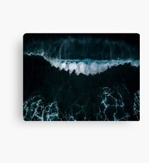 Wave in Motion - Ocean Photography Canvas Print