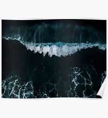 Wave in Motion - Ocean Photography Poster