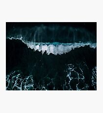 Wave in Motion - Ocean Photography Photographic Print
