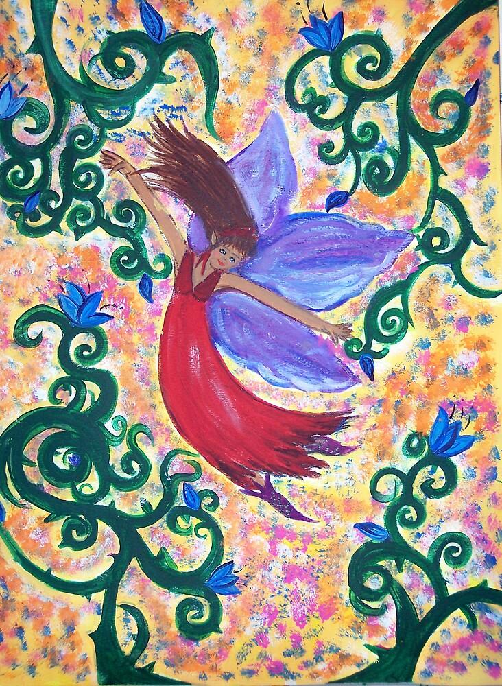 Freedom Fairy by sweetiepeachess