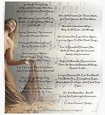 Heart Song With Lovely Leah Highland Poster
