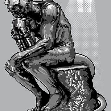The thinker of hell by Patrol