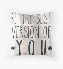 zoella - best version Throw Pillow