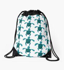 turtle-trubble Drawstring Bag