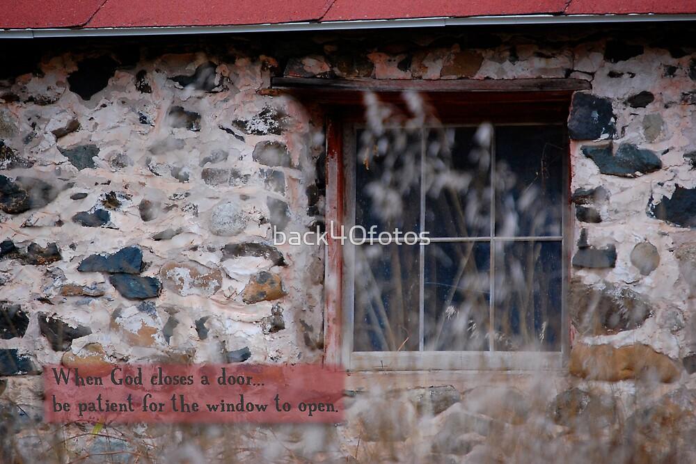 Barn Window by back40fotos