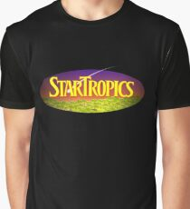 Star Tropics NES Cover Graphic T-Shirt